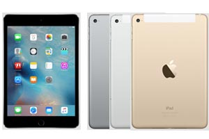 Apple iPad mini 4 günstig mit 1&1 Tablet Flat Tarif