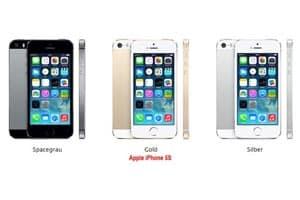 Apple iPhone 5s günstig mit 1&1 Allnet Flat Tarif