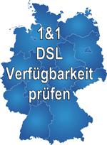 1&1 DSL Verfügbarkeit prüfen - 1&1 DSL verfügbar?