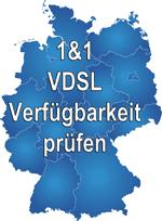1&1 VDSL Verfügbarkeit prüfen