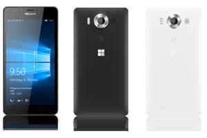 Microsoft Lumia 950 günstig mit 1&1 Allnet Flat Tarif bestellen