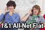 1&1 All-Net-Flat Tarife - auf Wunsch mit Smartphone