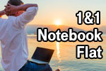 1&1 Notebook-Flat Tarife – optional mit Surf-Stick / Router