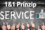 Das 1&1 Prinzip für Tablet Flat - Premium Service für Sie