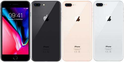 Apple iPhone 8 Plus günstig mit 1&1 Allnet Flat