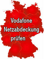 1&1 Netzabdeckung D-Netz - 1&1 Tarife im Vodafone D2-Netz