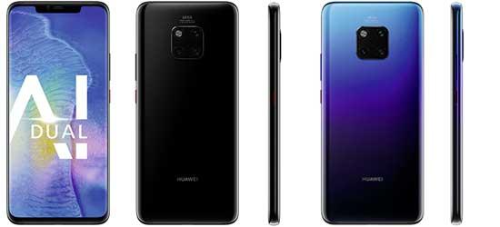 Huawei Mate 20 Pro mit 1&1 All-Net-Flat LTE
