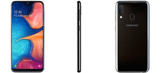 Samsung Galaxy A20e mit 1&1 Vertrag – Bundle