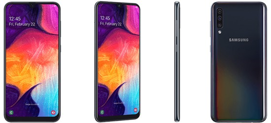 Samsung Galaxy A50 mit 1&1 Vertrag – Bundle