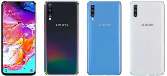 Samsung Galaxy A70 mit 1&1 Vertrag – Bundle