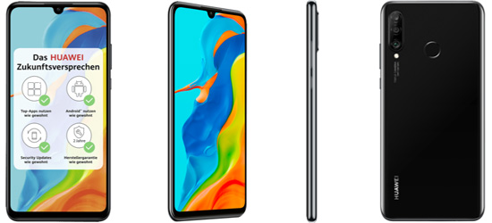Huawei P30 lite NE günstig mit 1&1 Vertrag – Bundle